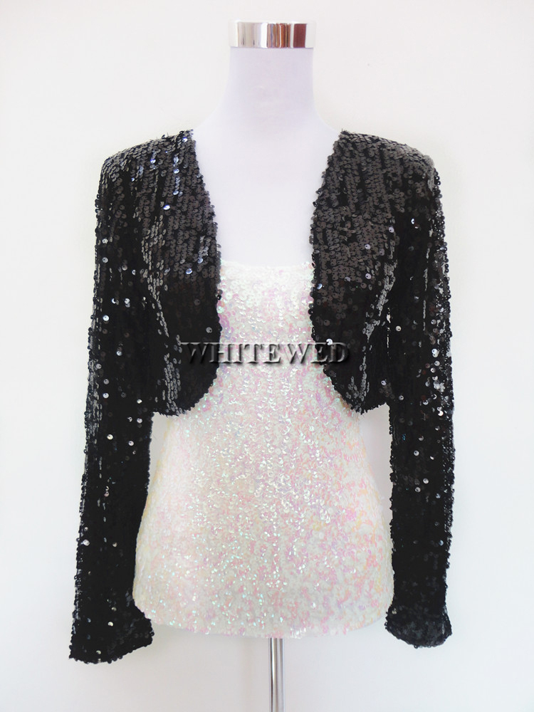 ae990452 Cheap Sequin Special Occasion Bolero Evening Entertainer Stage Dance  Costume Tops Clothing Jackets Wear for Musicians Women