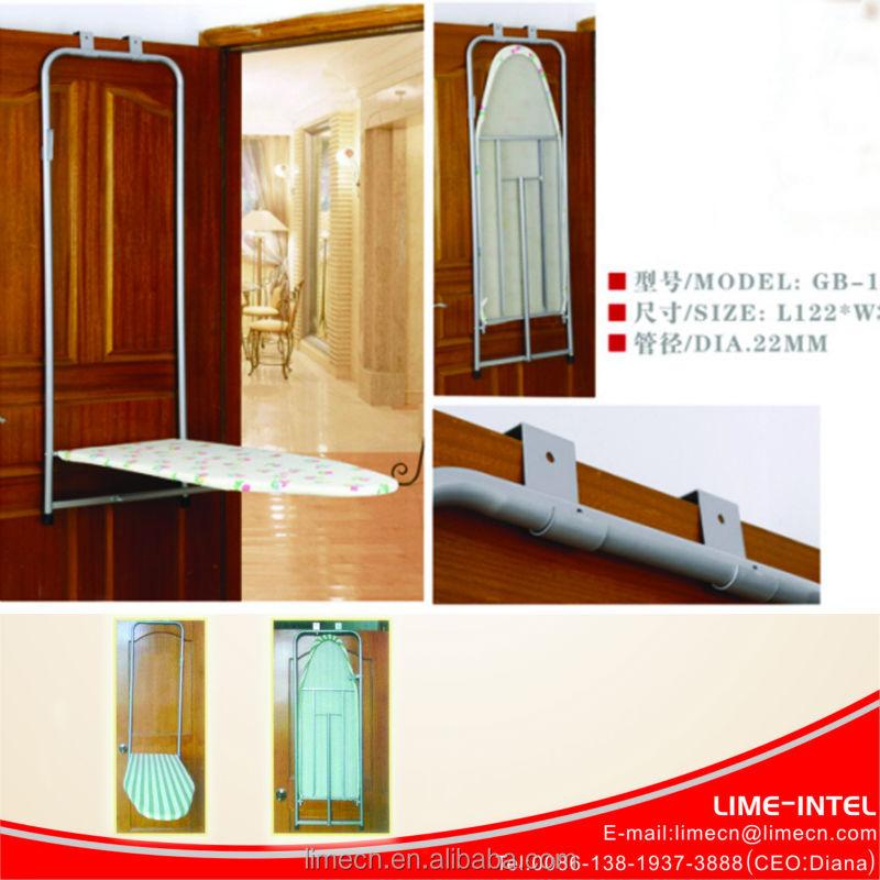 mur mont table pliante sur la porte planche repasser planche repasser id du produit. Black Bedroom Furniture Sets. Home Design Ideas
