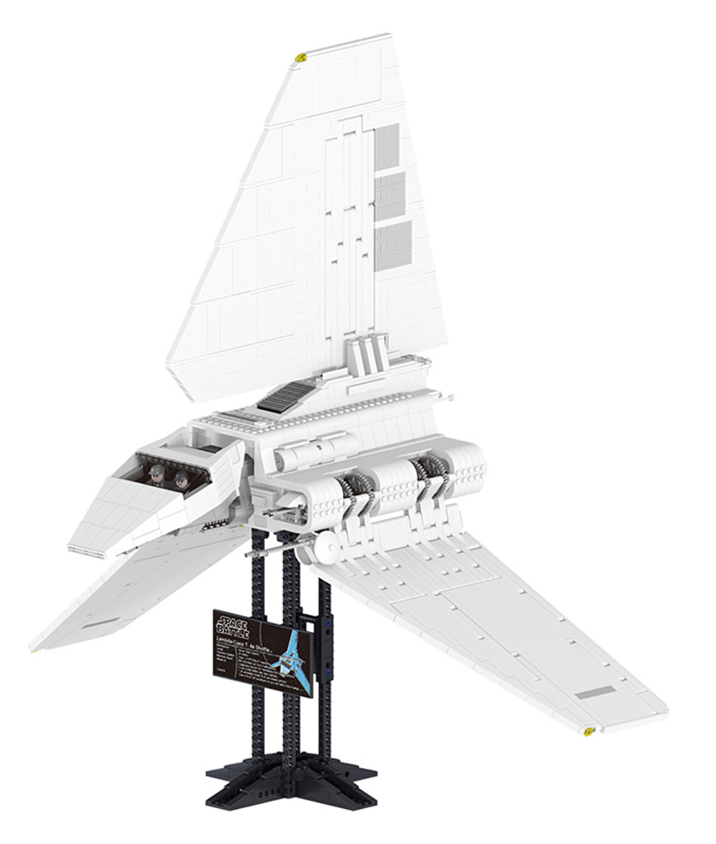 Star Wars Sets Imperial Shuttle Spacecraft