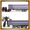 Show Z Store IDW Trailer for Transformaiton Generations Combiner Wars IDW Decepticon Motomaster