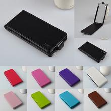 Luxury PU Leather Case Cover For Sony Xperia M4 Aqua E2363 E2312 E2333 Phone Case Original Protector Vertical Flip Back Cover