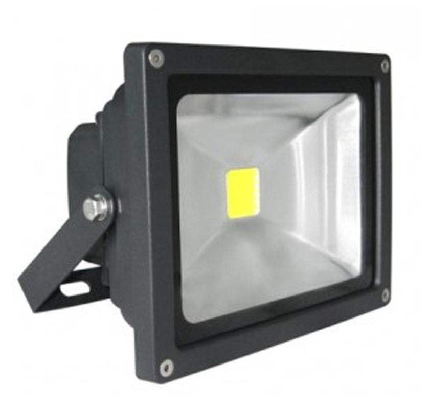 Led Flood Light Exterior: 20W LED Floodlight Flood Security Light Outdoor Garden