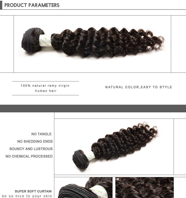 Black Pearl Nature Human Hair