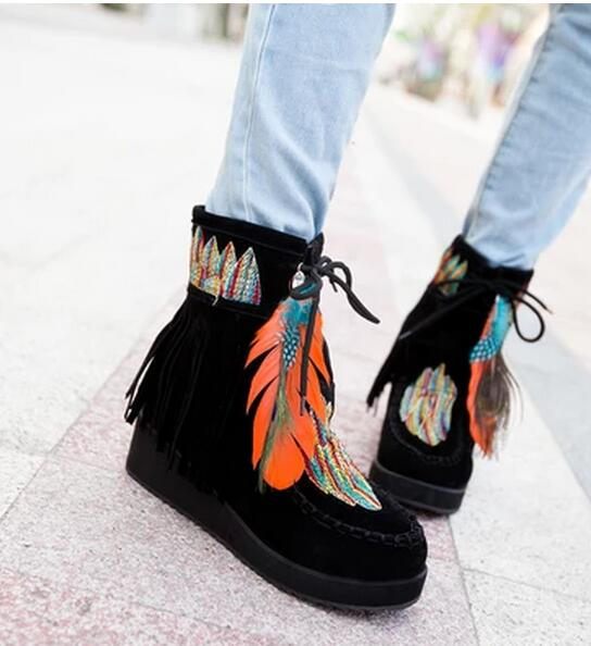 Indian Fringe Boots Promotion-Shop for Promotional Indian