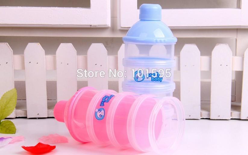 Hot Selling Baby Powder Milk Box Storage 4 Layer Newborn