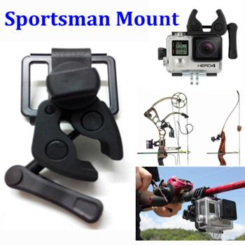 Multifunctional Sportsman Mount Hang Out Clamp For Gopro Camera Hero 4 3+ 3 2 1 HD Sj4000 Sj5000 Accessories