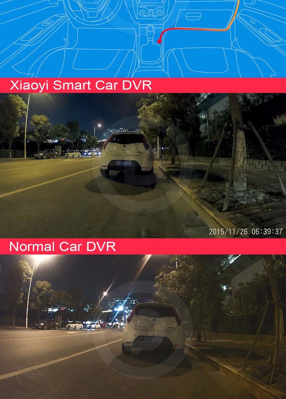 Xiaomi Xiaoyi Smart Car DVR