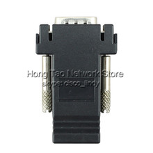 VGA Extender Male to LAN CAT5 CAT6 RJ45 Network Ethernet Cable Female Adapter Computer Extra Switch Converter Kit 04HR