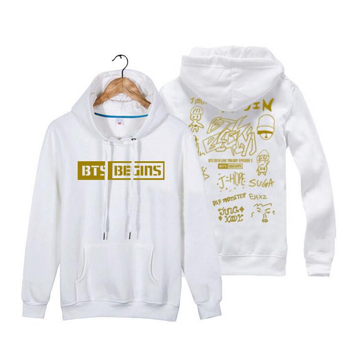 Compra Bts con capucha todos los nombres online al por