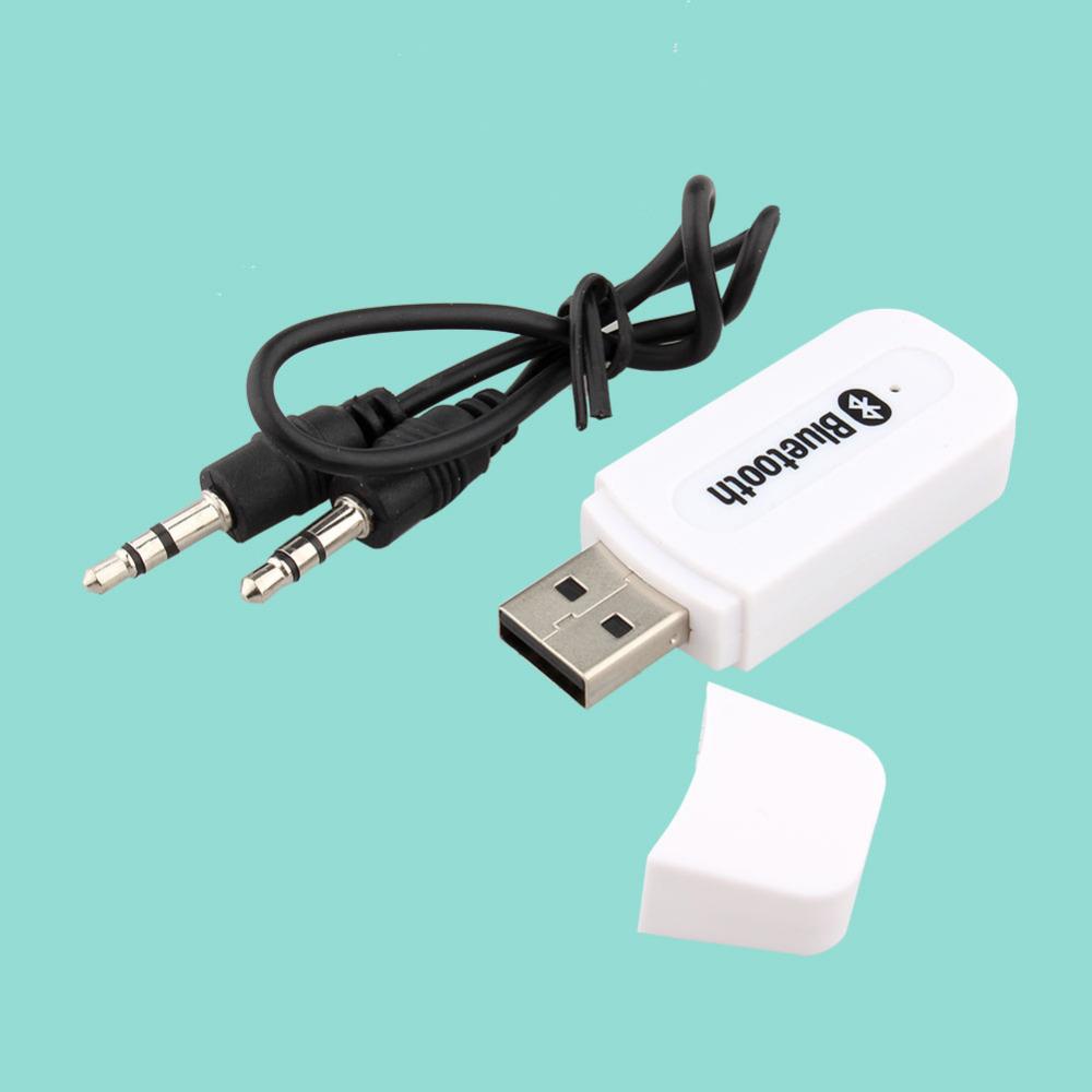 Новый USB Bluetooth адаптер аудио Bluetooth музыкальный приемник 3.5 мм стерео для автомобилей aux, домашние колонки, пк, мобильный телефон Flyspring