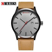 Мужские часы CURREN часы 2018 Топ бренд Роскошные модные повседневные кожаные кварцевые наручные часы relogio masculino esportivo(Китай)