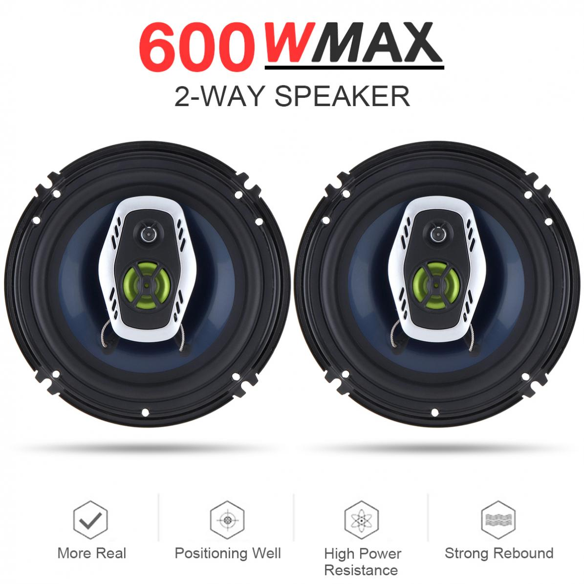 6 5 Inch 600w 2 Way Car Coaxial Auto Audio Music Stereo Full Range Frequency Hifi Speakers Non Destructive Installation Cheap Car Sound Systems Aftermarket Car Stereo From Bdauto 36 05 Dhgate Com