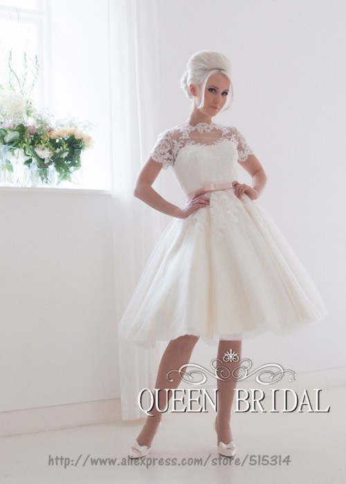 Light Pink Short Bridesmaid Dress