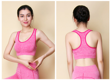 05b67e812b NEW Breathable quick drying Professional sports bras Shockproof I shaped underwear  vest women dancing GYM fitness