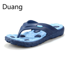 Hot Sale authentic New Summer Fashion Flip Flops Men Sandals Male Flat Massage Beach Slippers men Loafers shoes free shipping