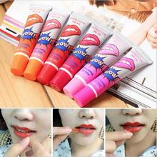6 pçs/lote Pintalabios romântico de casca de líquido batom fosco lábios maquiagem de longa duração à prova d ' água