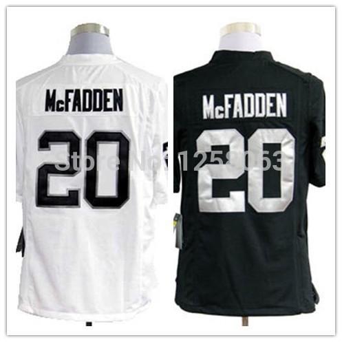 2035d2fe5 Limited time lowest price sale  20 Darren McFadden White Black Men  39