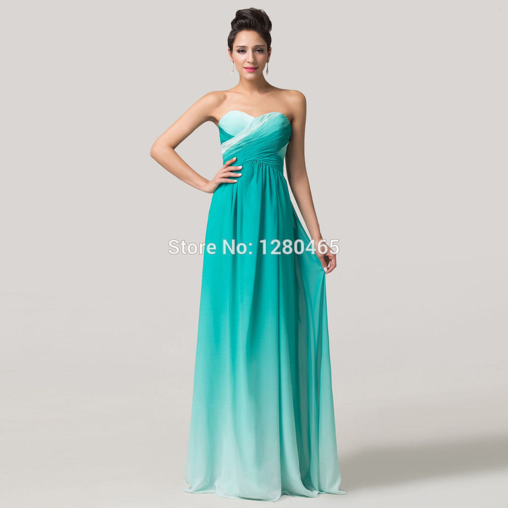 Prom Dresses Pictures: Ombre Prom Dresses 2010
