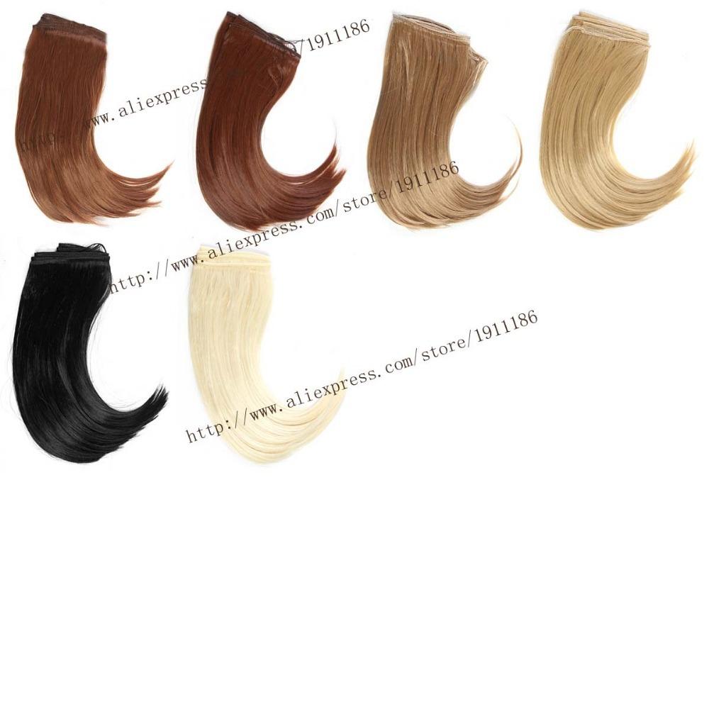 25 100CM Doll Wigs Hair BJD SD DIY Big Bend hairstyle High temperature Wire Handmade Doll