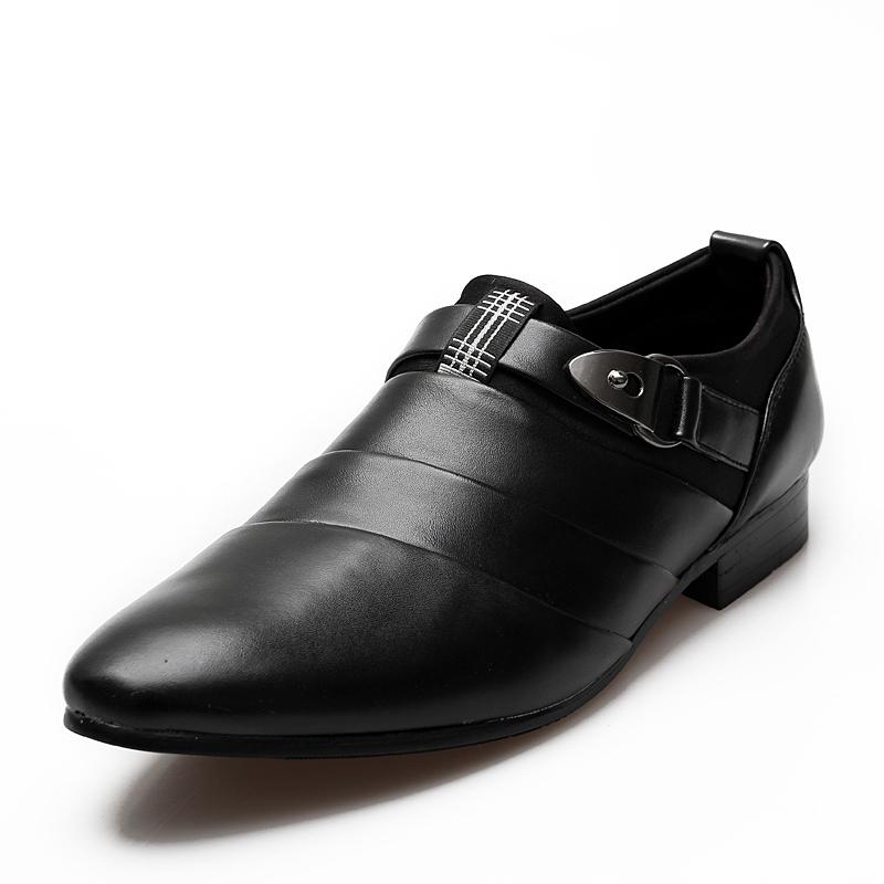 Business Shoes Smoking Flat