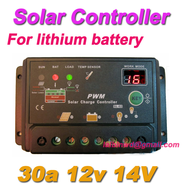 Lithium Ion Battery Solar Charge Controller Solar Charge