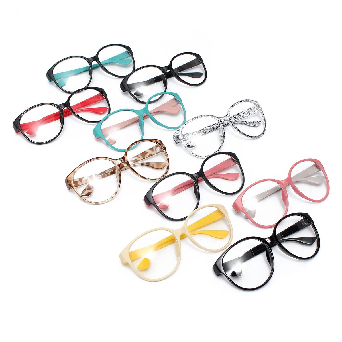 Прекрасный ретро круг линзы - очков очки рама украшение дети мужчины женщины