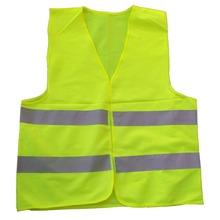 Car Motorcycle Reflective Safety Clothing High Visibility Safety Reflective Hi Viz Vest Warning Coat Reflect Stripes Tops Jacket