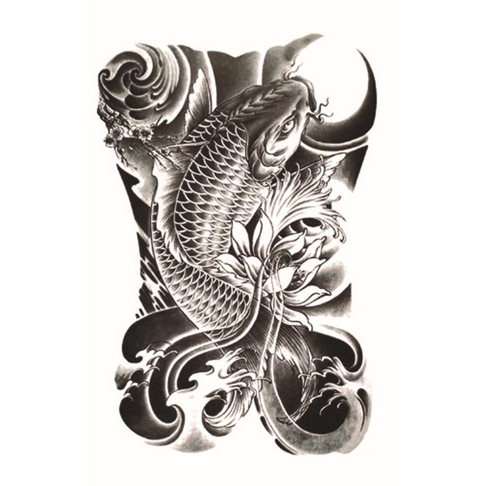 achetez en gros koi carpe tatouage en ligne des grossistes koi carpe tatouage chinois. Black Bedroom Furniture Sets. Home Design Ideas