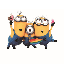 1 Set Fun Minions Car Auto Decal Stickers Automobile Accessories Vehicle, for Car Bumper Window Sticker, the Whole Body, or Wall