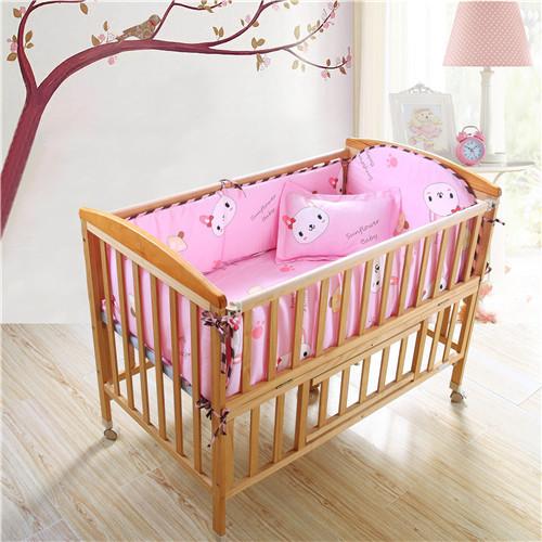 Online Get Cheap Beige Crib Bumper Aliexpress Com