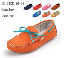 Whole sale Genuine leather girls shoes kids shoes boys children shoes