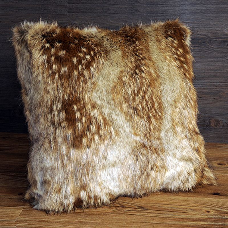 Faux Fur Throw Pillows Home Decor