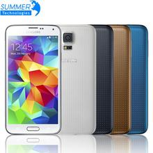 Original Unlocked Samsung Galaxy S5 i9600 Mobile Phone 5.1″ Quad Core Refurbished Phone 16MP GPS NFC Cell Phones