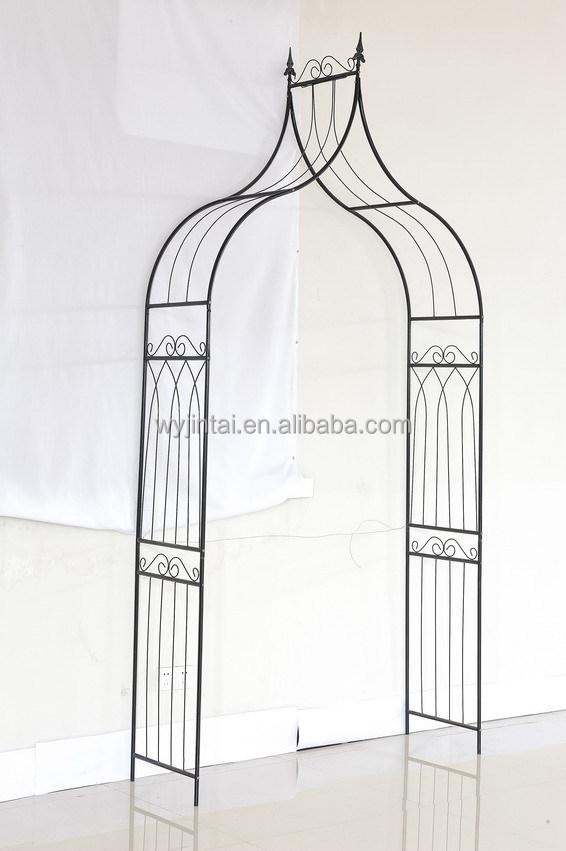 enmarcado metal prgola para decoracin de jardn