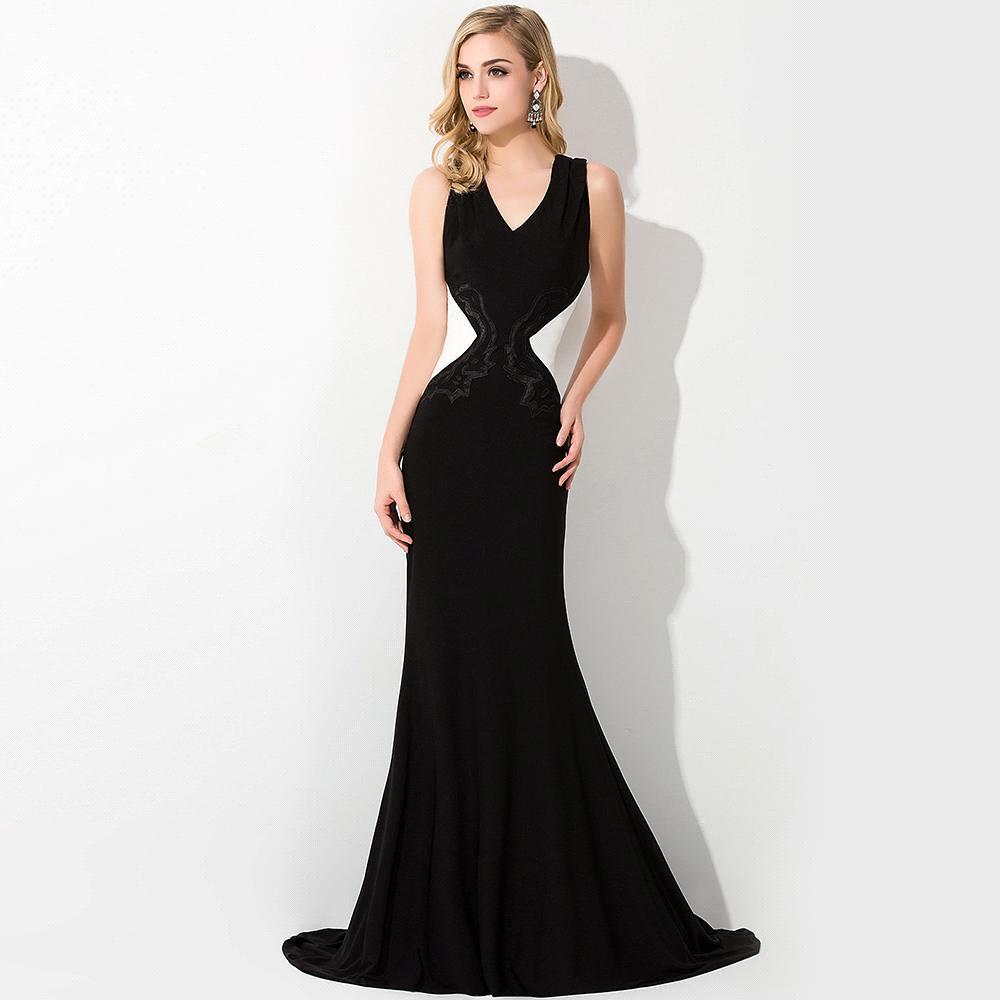 elegant black prom dresses - photo #4