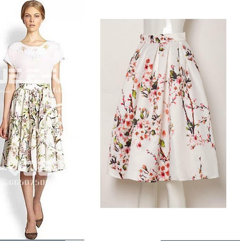 c9a67ad64fe6 Womens Floral Skirt - Dress Ala