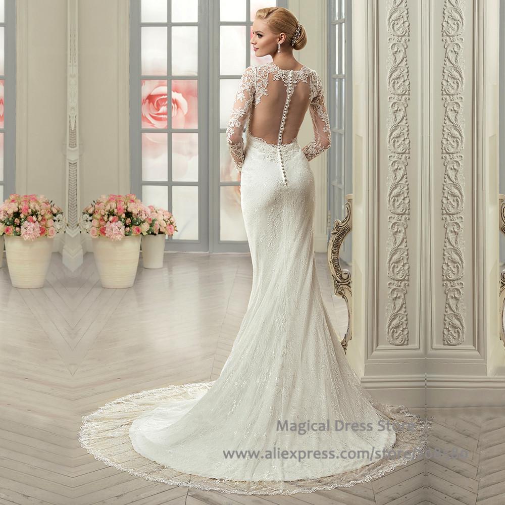 acheter robe noiva sereia 2016 dentelle voir au travers de mari e sir ne robes. Black Bedroom Furniture Sets. Home Design Ideas