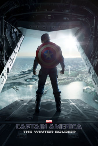 Captain America The Winter Soldier Teaser Hi Res Movie Poster Print on Silk Wall Home Decoration 12x18 24X36 inch