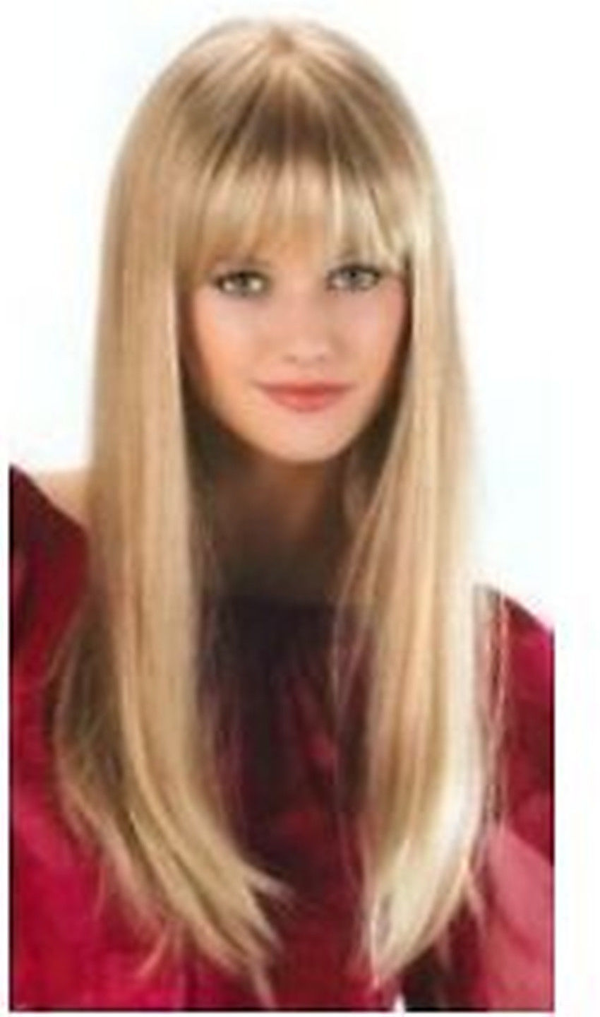 belle perruque long cheveux blond wig in synthetic wigs from beauty health on. Black Bedroom Furniture Sets. Home Design Ideas
