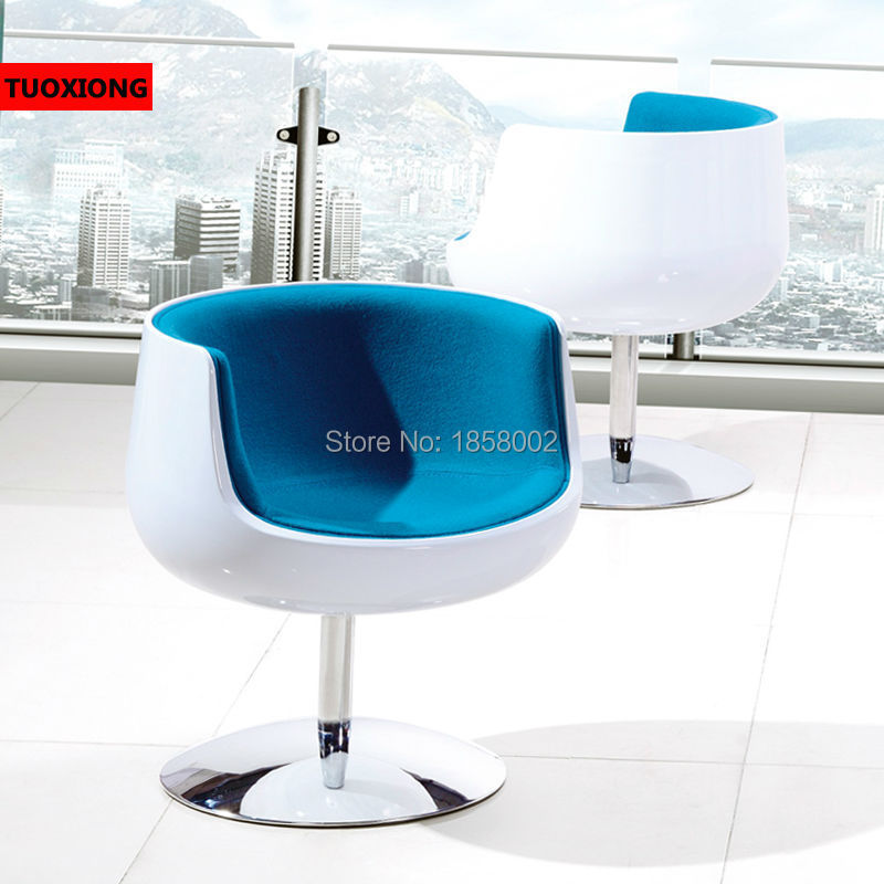 Modern Fashion Barber Chair Plastic Chaise Lounge Armchair