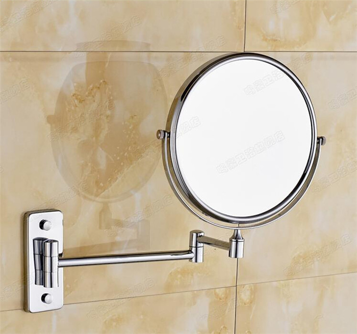 How To Hang Bathroom Mirror: All Copper 8 Inch Mirror Bathroom Mirror Hanging
