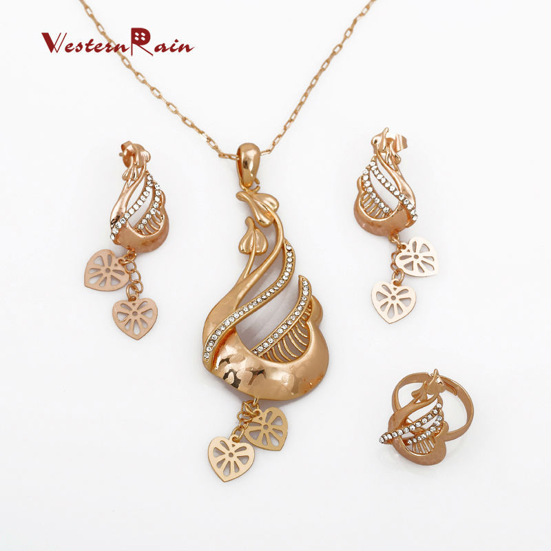 Aliexpress.com : Buy WesternRain 2017 Yellow Gold Necklace ...