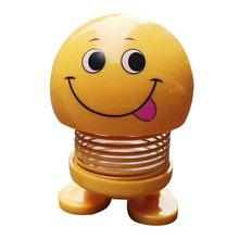 Весна милый смайлик кукла автомобиль орнамент интерьер приборной панели декор отказов игрушки украшения дома аксессуары decoracion hogar(Китай)