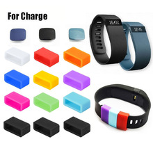 12pcs Silicon Fastener Ring with 3pcs Clasp for Fitbit Charge Wristband – Fix the Clasp Fall Off Problem(NO tracker and band)