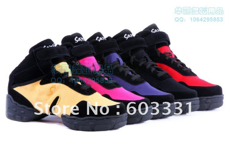 tn o sansha toile moderne jazz hip hop danse sneakers chaussures 5 couleurs us taille 5 9. Black Bedroom Furniture Sets. Home Design Ideas