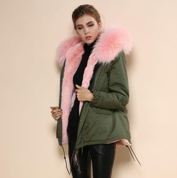 29c5b44f88a91 abrigo capucha pelo mujer