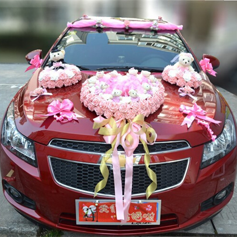 Wedding Vehicle Decorations