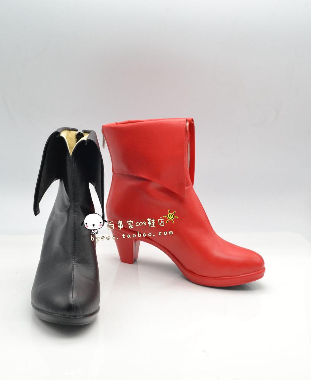 Harley Quinn High Heel Shoes