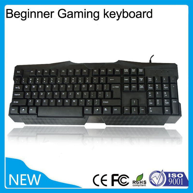 2015 best selling newer game keyboard waterproof usb wired ergonomics keyboard free shipping in. Black Bedroom Furniture Sets. Home Design Ideas