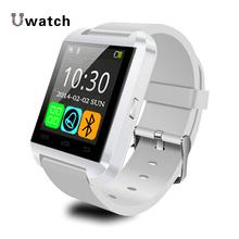 Digital-watch Wireless Bluetooth Smart Watch U8 U Sport Pedometer Barometer Handsfree Smartwatch U80 Wristband for Android Phone